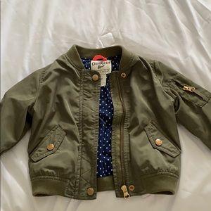 Oshkosh army green jacket 3T